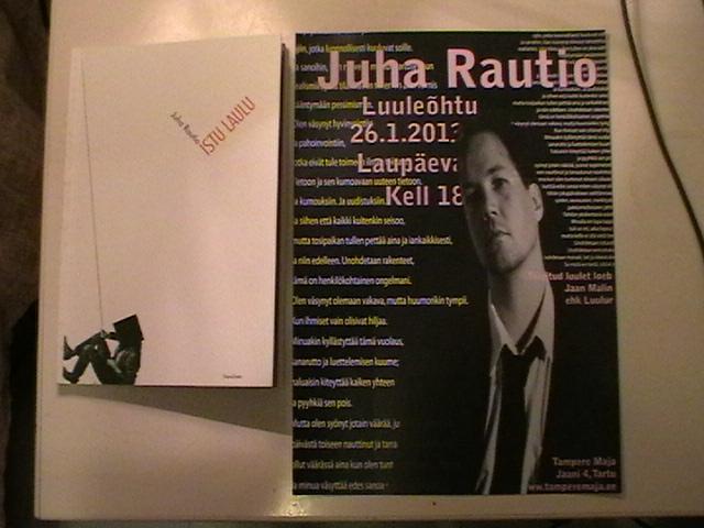 Juha Rautio Tarttossa