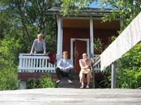 Aamu Piispanhuvilalla - Saimaan runokiertue 2008