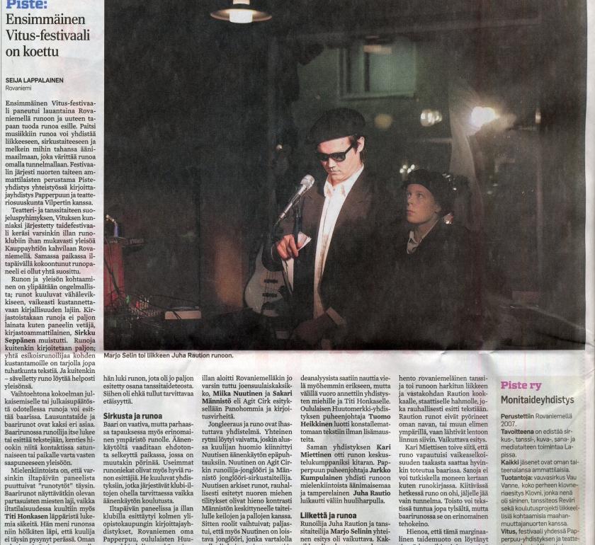 Lapin kansa 3.11.2008