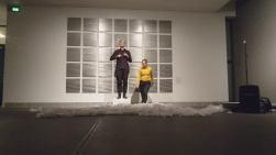 Ylitys 1 Rovaniemen taidemuseossa 2018