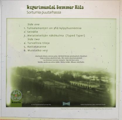 Levyn takakansi Veli-Matti Rintala